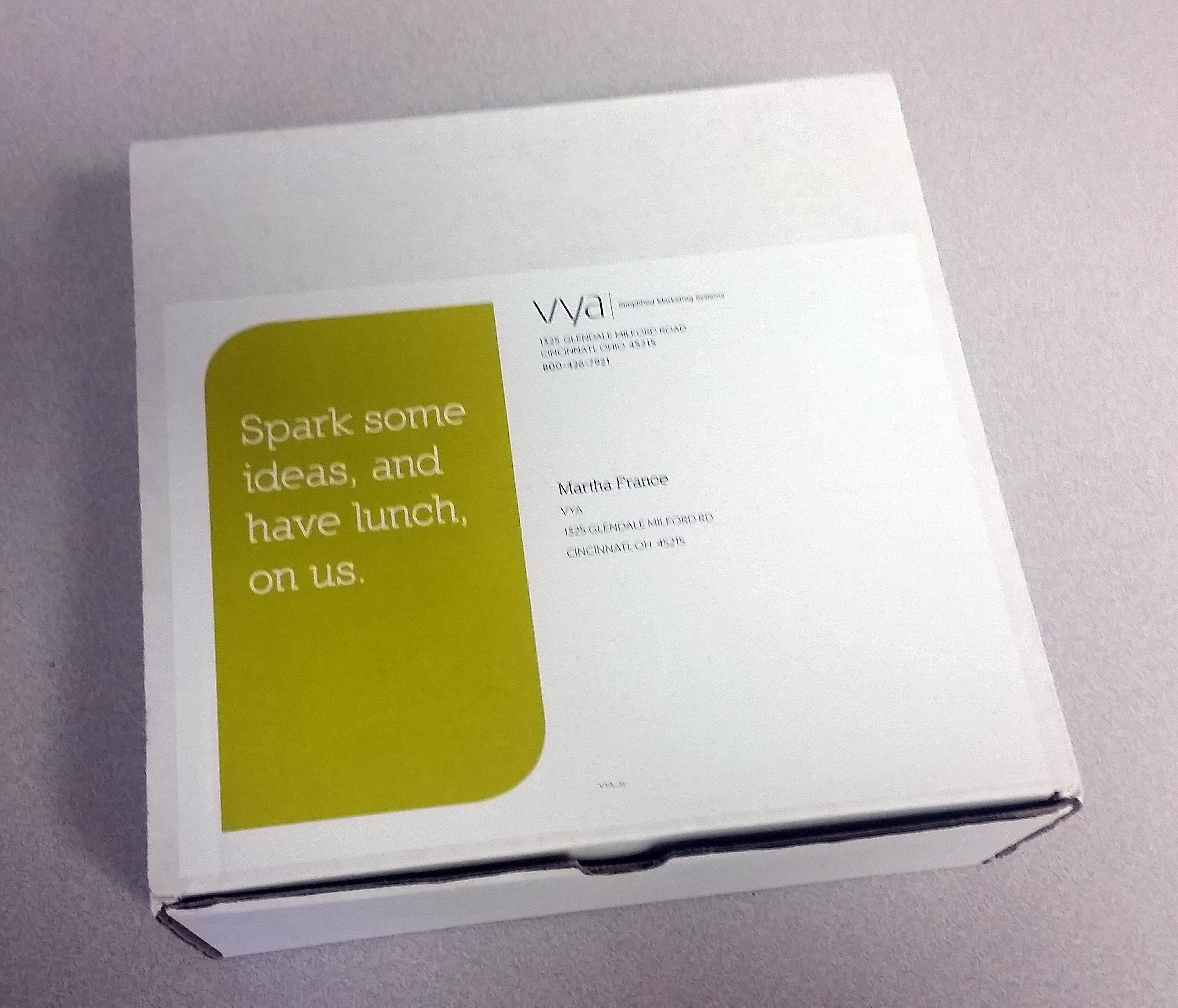 lunchbox direct mail – Annette Walker design
